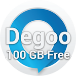 100GB Free Cloud Storage Degoo
